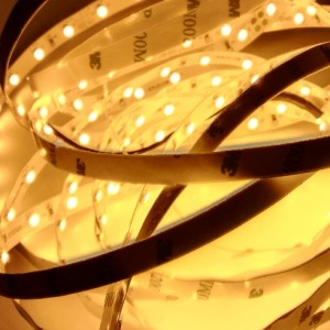 GERLED® Professional indoor LED strip 300 SMD 3528 1m YELLOW 24V