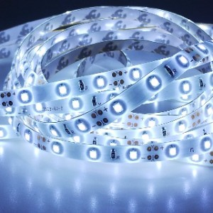 Economic waterproof LED strip 300 SMD 3528 1m COLD WHITE