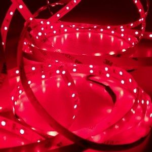 GERLED® Professional indoor LED strip 300 SMD 3528 1m RED 24V